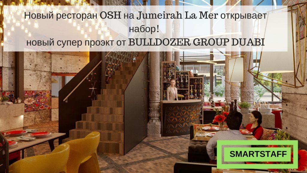 Работа в BULLDOZER GROUP DUBAI